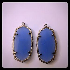 Kendra Scott Danielle Large Blue Onyx